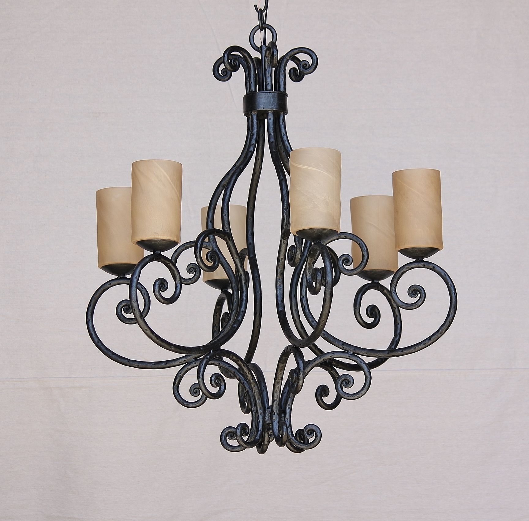 Lights of Tuscany 1614-6 Rustic Tuscan Style Chandelier