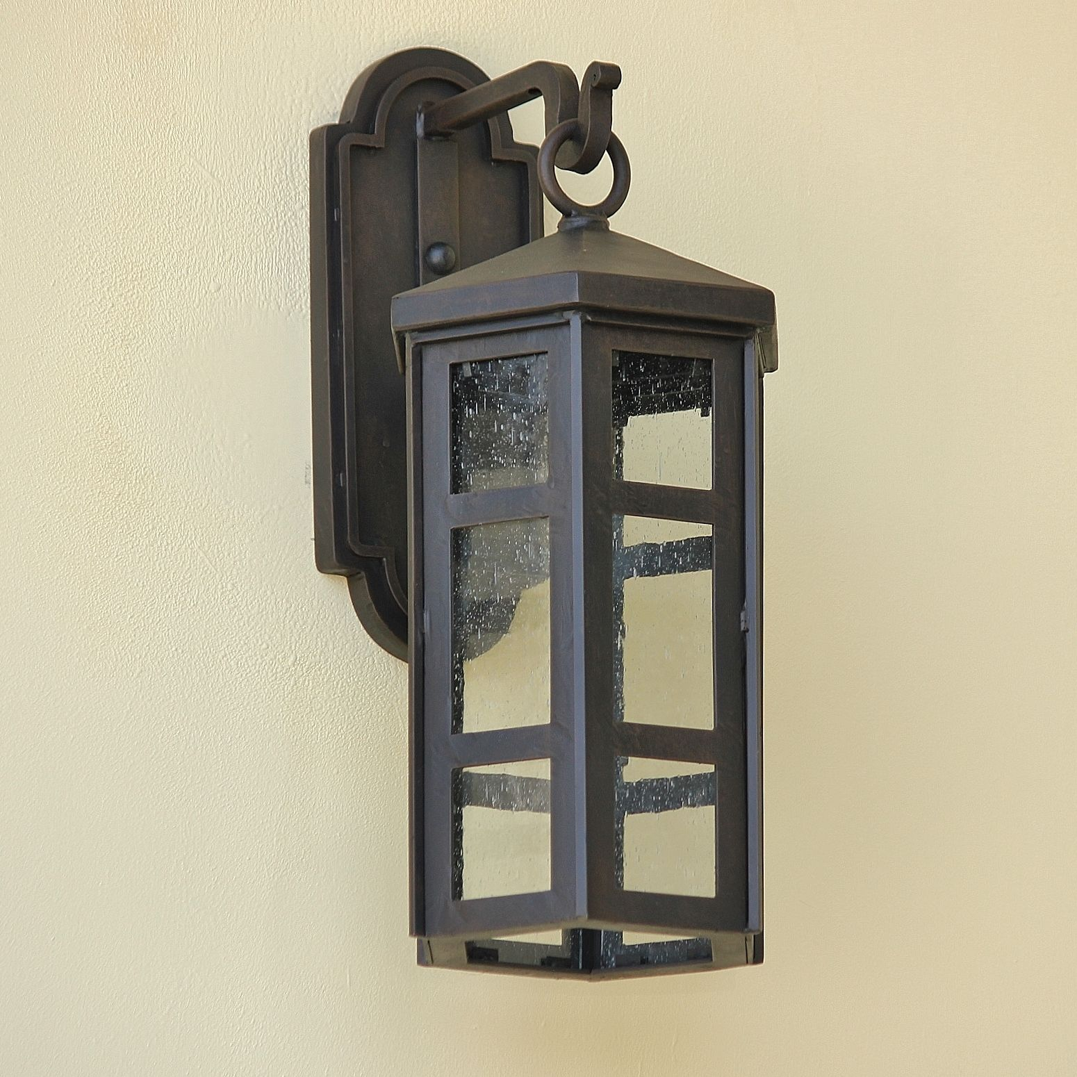 Lights Of Tuscany 6981 1 Spanish Contemporary Wrought Iron Outdoor Lighting Fixture