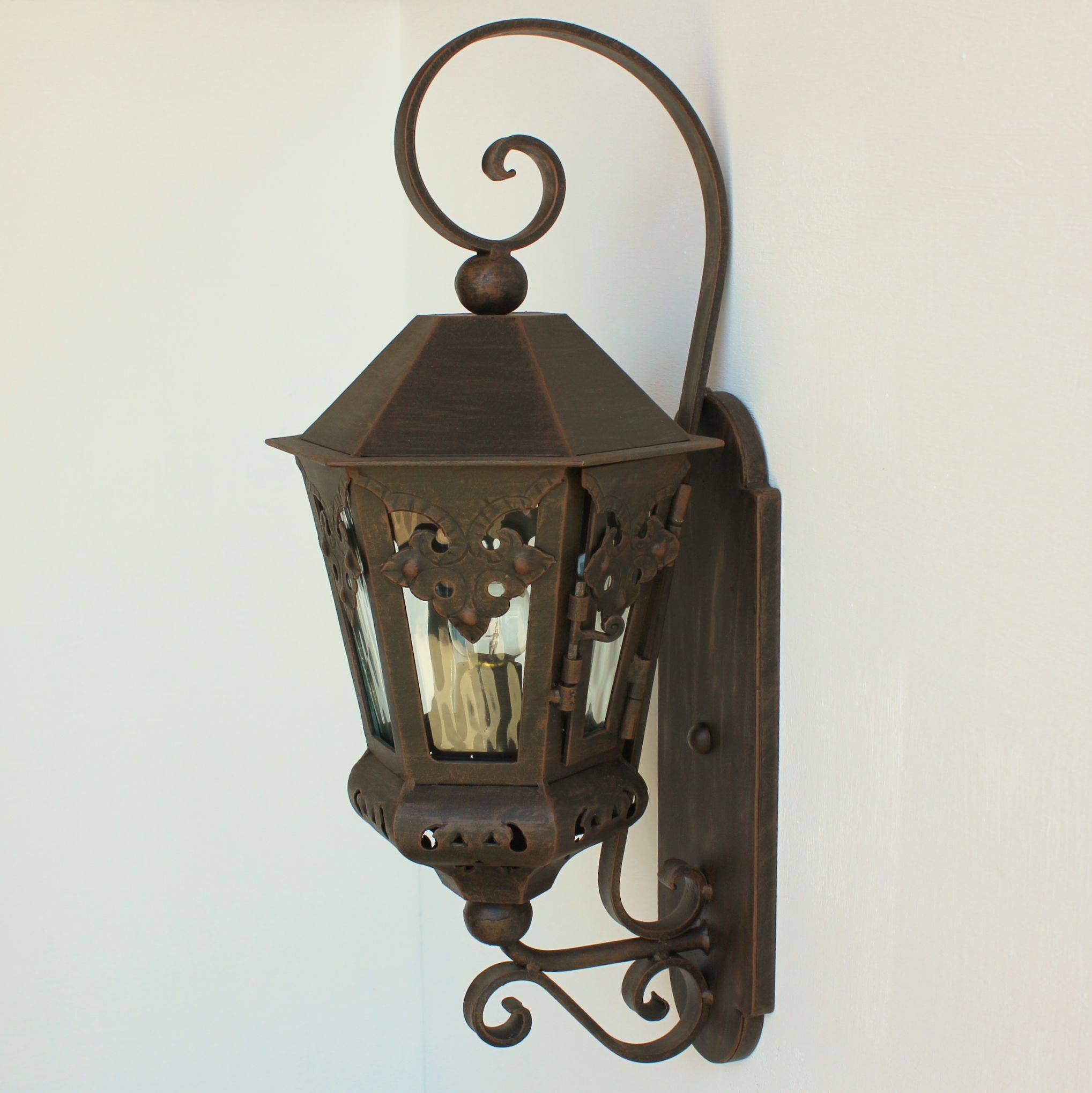Lights Of Tuscany Authentic Spanish Colonial Outdoor Exterior Lighting Lantern